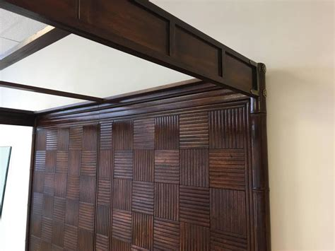 Bamboo Style Bedroom Furniture by 1970s Henredon Faux Bamboo Caign Style Canopy Bed For