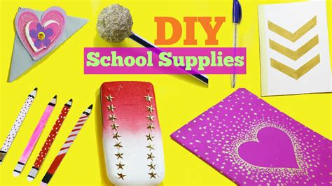 7 Supplies That Make Studying Easier by Diy School Supplies 7 Easy Diy Crafts For Back To School
