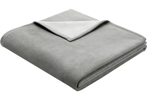 Wohndecke Baumwolle Grau by Biederlack Wohndecke Exquisite Cotton Grau 150x200 Cm