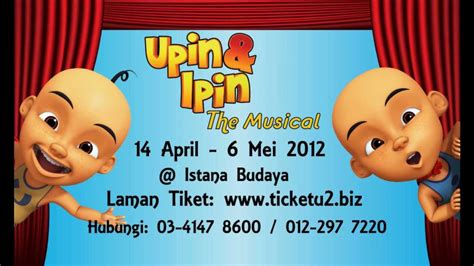 film upin ipin kung durian runtuh upin ipin the musical teaser 1 youtube