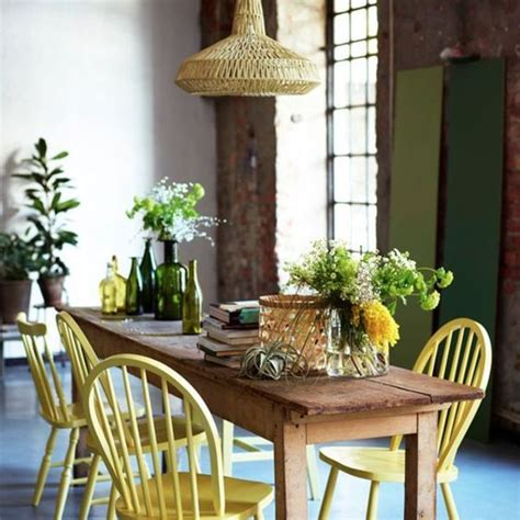 Salle à Manger Rustique by Salle 224 Manger Des Tables En Bois Pour Une D 233 Co Rustique