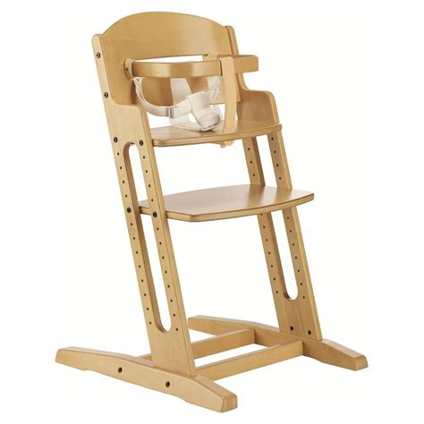 Wooden High Chairs For Babies by New Babydan Baby Highchair Nature Wooden High Chair