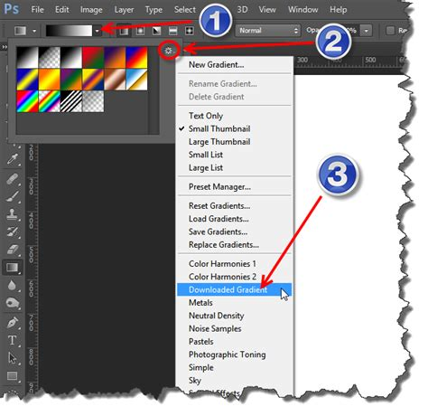 photoshop gradients how to install gradients in photoshop cs6 cs5 learn how to install gradients in photoshop