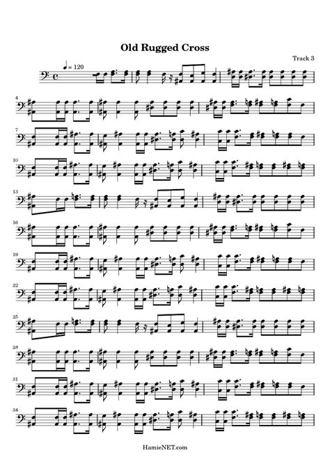 The Old Rugged Cross Chords Pdf by The Old Rugged Cross Free Sheet Music Rugs Ideas