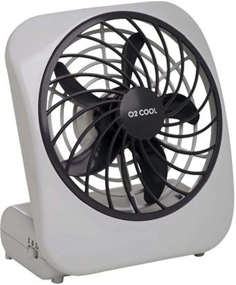battery operated desk fan o2 cool battery fan for emergency