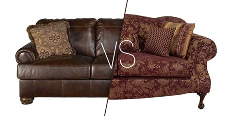 leather vs fabric sofa fabric vs leather couches atg stores