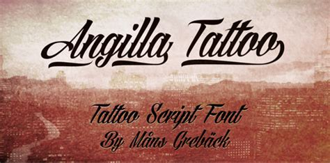 tattoo lettering too thick 10 fantastic new and free fonts for 2013 designfollow