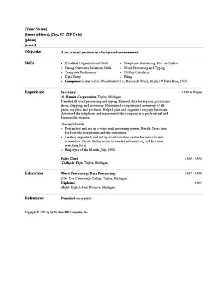 Resume Template Office 365 by Microsoft Office 365 Sle Resume Templates