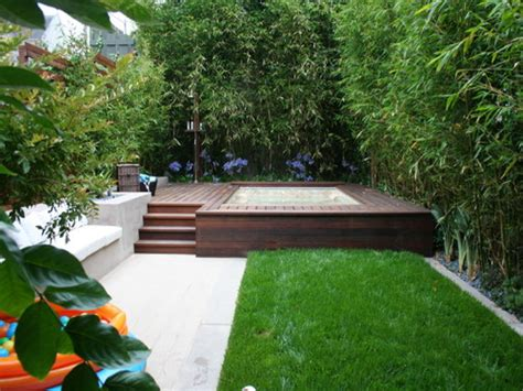Outdoor Hot Tub Landscaping Ideas Pictures To Pin On Backyard Tub Landscaping