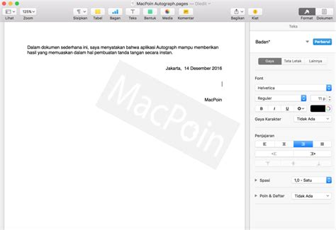 cara membuat tanda tangan digital di pdf cara membuat tanda tangan di mac dengan autograph macpoin
