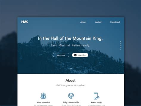 Hmk Website Template Sketch Freebie Download Free Resource For Sketch Sketch App Sources Sketch Website Template Free