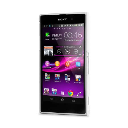 Capdase Karapace Jacket Bb Q5 Finne Ds Clear 1 capdase karapace touch for sony xperia z1 white