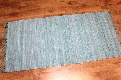 rag rugs cotton blue rag rugs