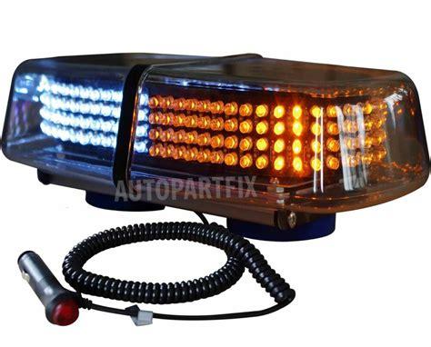 magnetic strobe lights 240 led magnetic white yellow emergency truck strobe flash light warning ebay