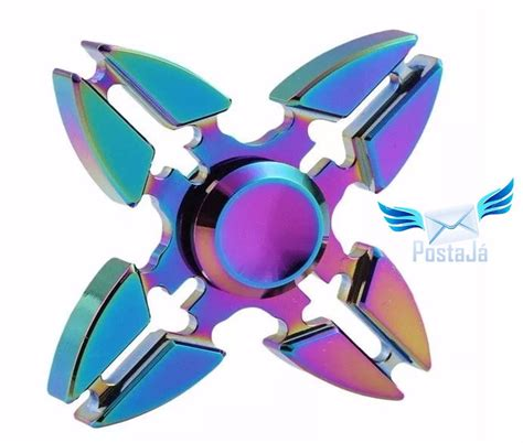Fidget Spinner Metal Shuriken fidget spinner anti stress metal modelo