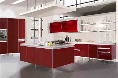 Inexpensive Modern Kitchen Cabinets Cheap Kitchen Design Feel The Home