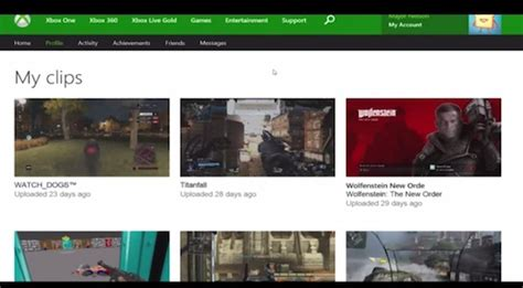 xbox one profile coming to xbox one profile changes coming soon