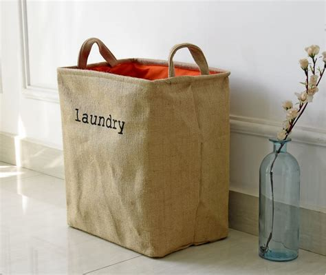 Printed Laundry Basket printed canvas laundry storage collapsible basket buy