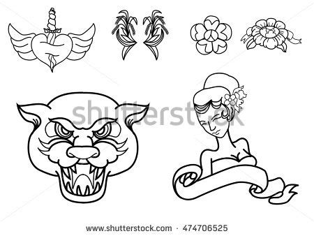 how to create a classic tattoo style vector illustration list of synonyms and antonyms of the word traditional