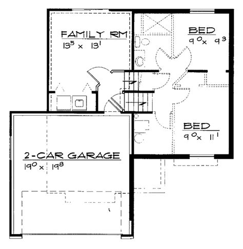 floor scale 10 1 2 w x 14 d inch 450kl contemporary style house plan 2 beds 1 baths 1426 sq ft plan 308 284 floorplans