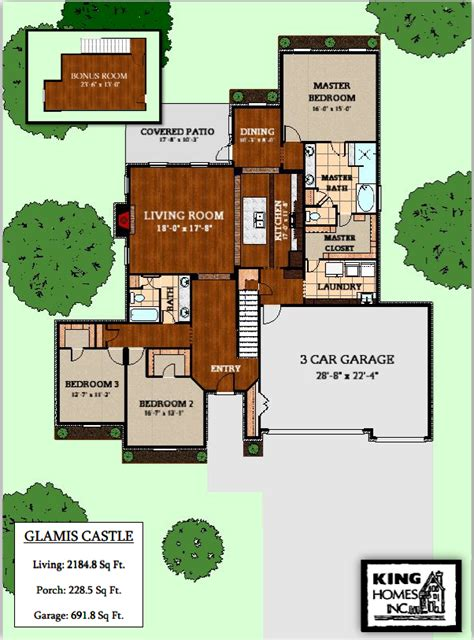 glamis castle floor plan king homes homes for sale under construction