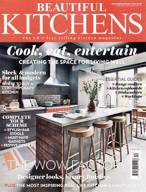 kitchen cabinet magazine media coverage l solid wood kitchen cabinets