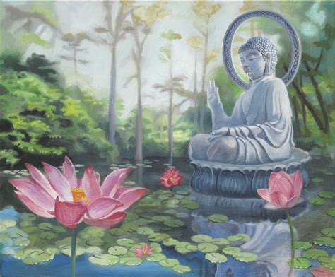 buddha and lotus lotus flowers and buddha this is another on