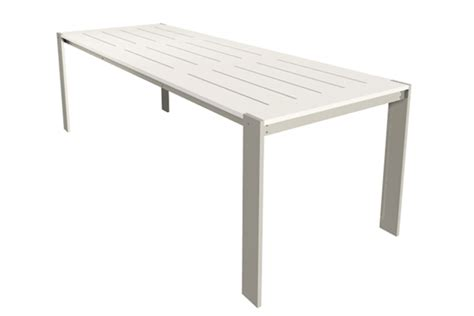 luma dining table 34 inch modern outdoor designs patio
