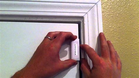 age  solutions door sensor installation youtube