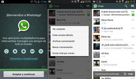 no guardar imagenes whatsapp android la nueva versi 243 n de whatsapp permite archivar