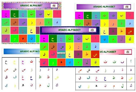 Alfabet Islam arabic alphabet the resources of islamic homeschool in
