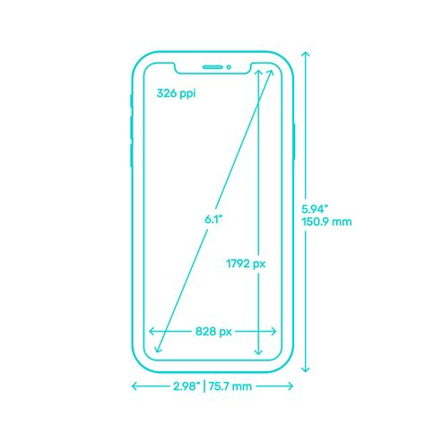 apple iphones dimensions drawings dimensionsguide