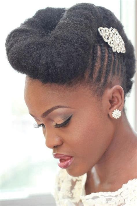 Wedding Hairstyles For Black With Hair by 15 Awesome Wedding Hairstyles For Black Pretty Designs