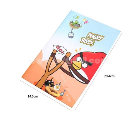 Style Notebook Bird by Soft Cover Angry Birds Journal Notebook Notepad 5