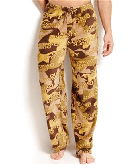 duck dynasty house shoes duck dynasty men s camo plush pants pajamas robes slippers men macy s