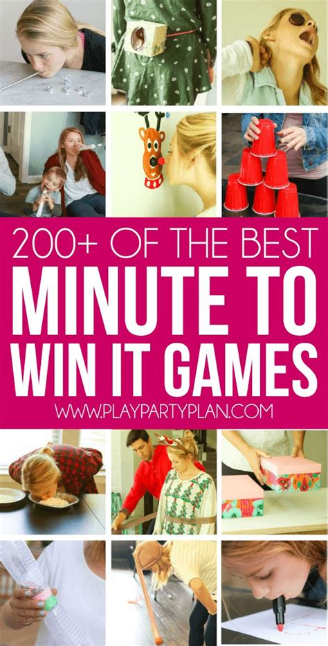 minute to win it for best 25 ideas on