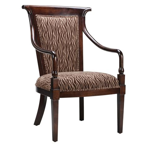 furniture black wooden chair with accent upholstered