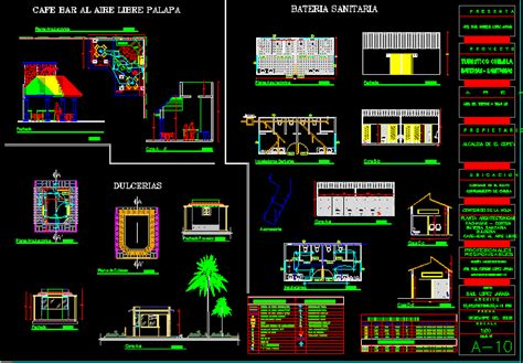 Coffee Shop Design Dwg | coffee shop 2d dwg design plan for autocad designs cad