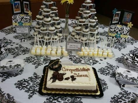 50th Birthday Party Ideas Decorations Cake Table Graduation Party Ideas Pinterest