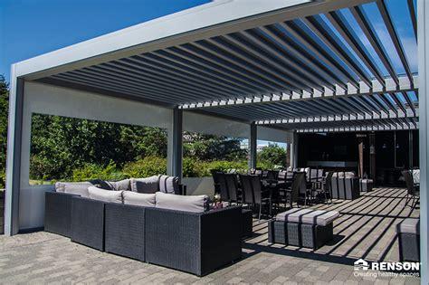 pergola mit verstellbaren lamellen wohnideen interior - Terrassen Berdachungssysteme