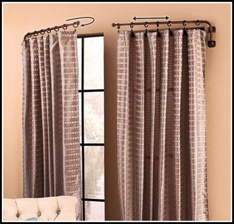 curtains over doors swing arm curtain rods for french doors curtains home