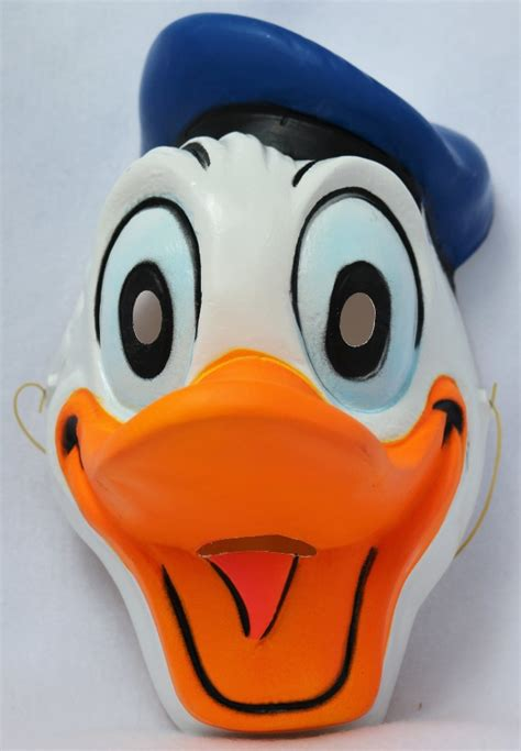 Masker Wajah Masker Motor Masker Bikers Top Racing vintage walt disney donald duck mask cesar costumes import