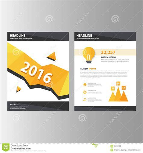 Annual Marketing Report Template Orange Black Annual Report Presentation Template Brochure