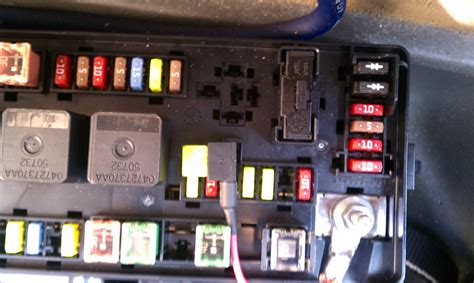 Captivating 2005 Dodge Magnum Hemi Fuse Box Identification