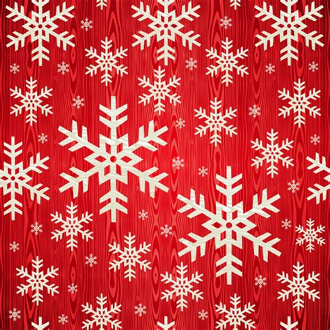 christmas snowflakes patterns design vector free vector in