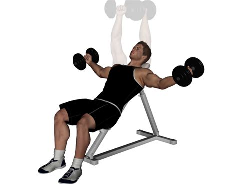 incline bench flyes pro bodybuilder uk chest day