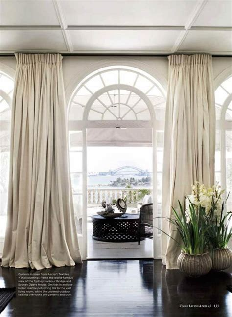 Floor To Ceiling Drapes by Best 25 Half Window Curtains Ideas On Kitchen