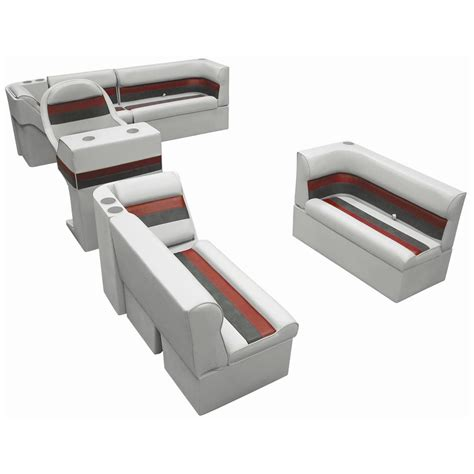 wise deluxe pontoon furniture wise 174 complete deluxe pontoon boat seat h style seating