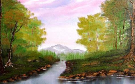 Lukisan Pemandangan Hijau 50 lukisan pemandangan alam gunung laut dan pantai indah