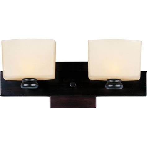 maxim lighting essence 2 light rubbed bronze bath